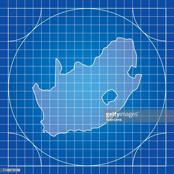Blueprint South Africa Map