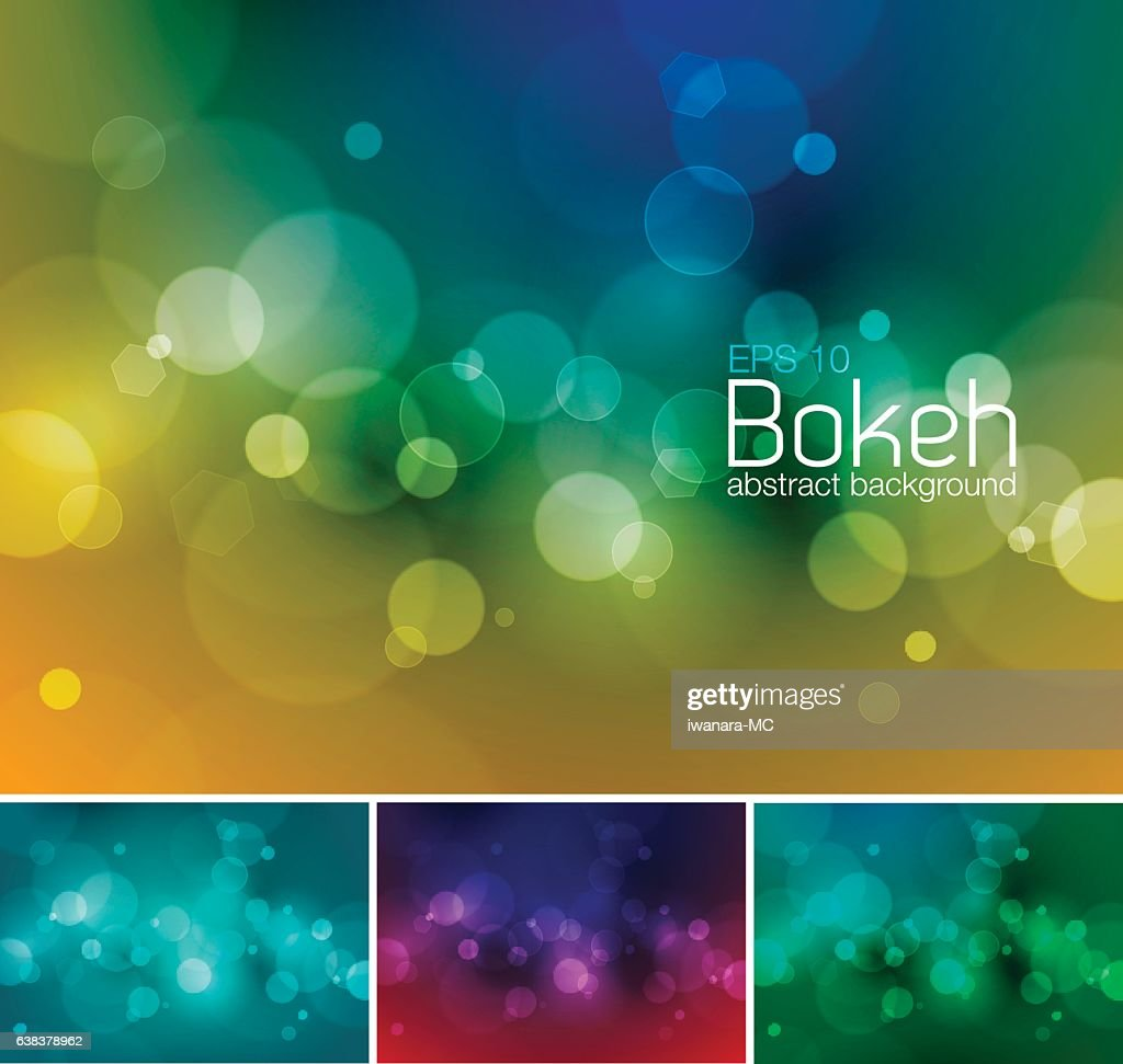 Blur and unfocused vector abstract background