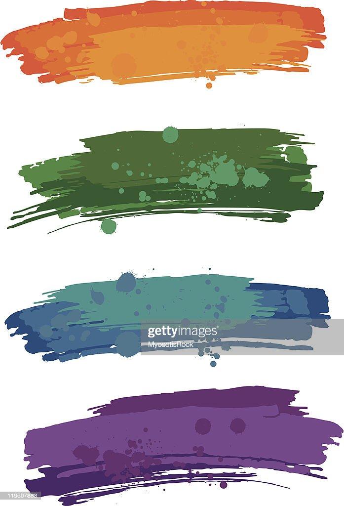Blur with blobs