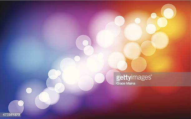 blurred multicolored background - vector - flare stack stock illustrations, clip art, cartoons, & icons