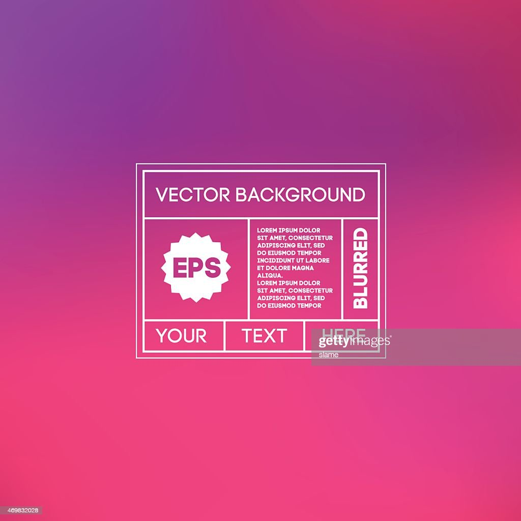 Blurred pink and purple background template