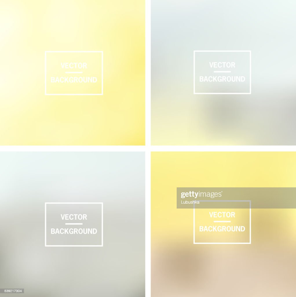 Blurred vector background