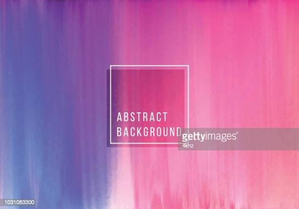 ぼやけの波状の青とマゼンタの色の抽象的な背景 - 玉虫色点のイラスト素材/クリップアート素材/マンガ素材/アイコン素材