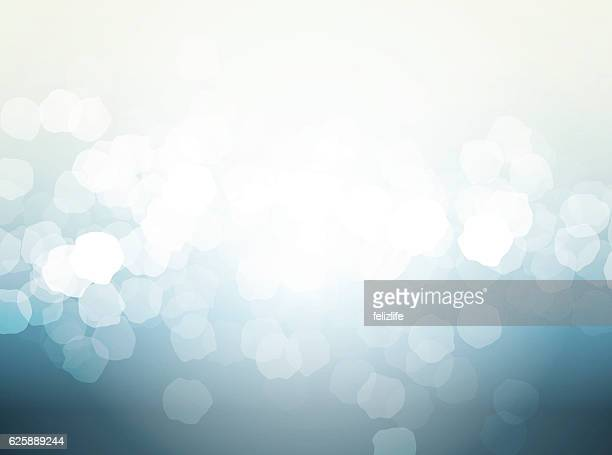 blurry lights abstract background