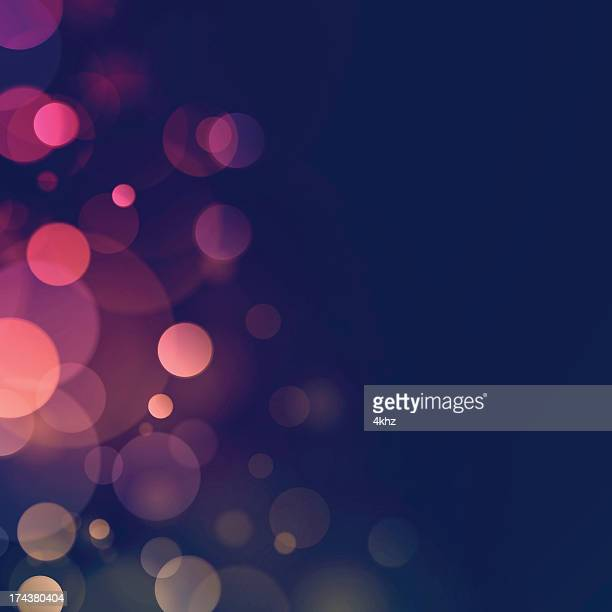 Blurry lights vector background