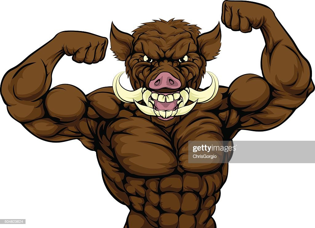 Boar Hog Mascot