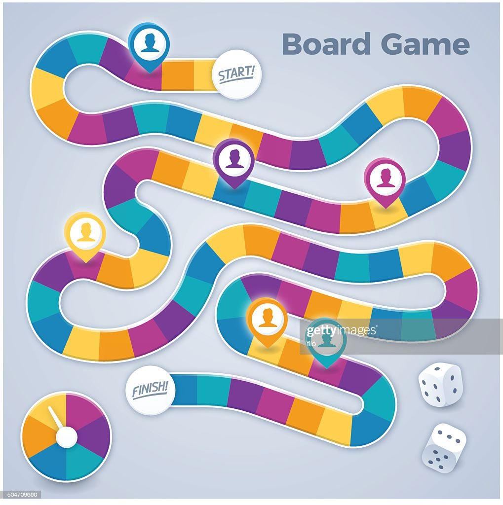 Board Game : stock illustration
