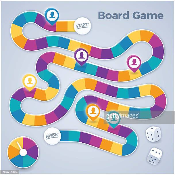 board game - leisure games stock illustrations