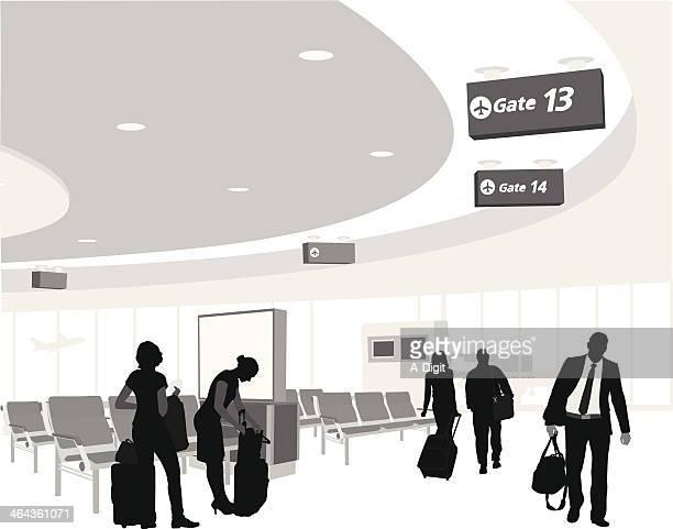 Boarding Gate 13