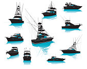Boats, Fishing, Charter, Luxury, Collection