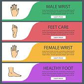 Body parts icons