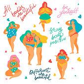 Body positive concept