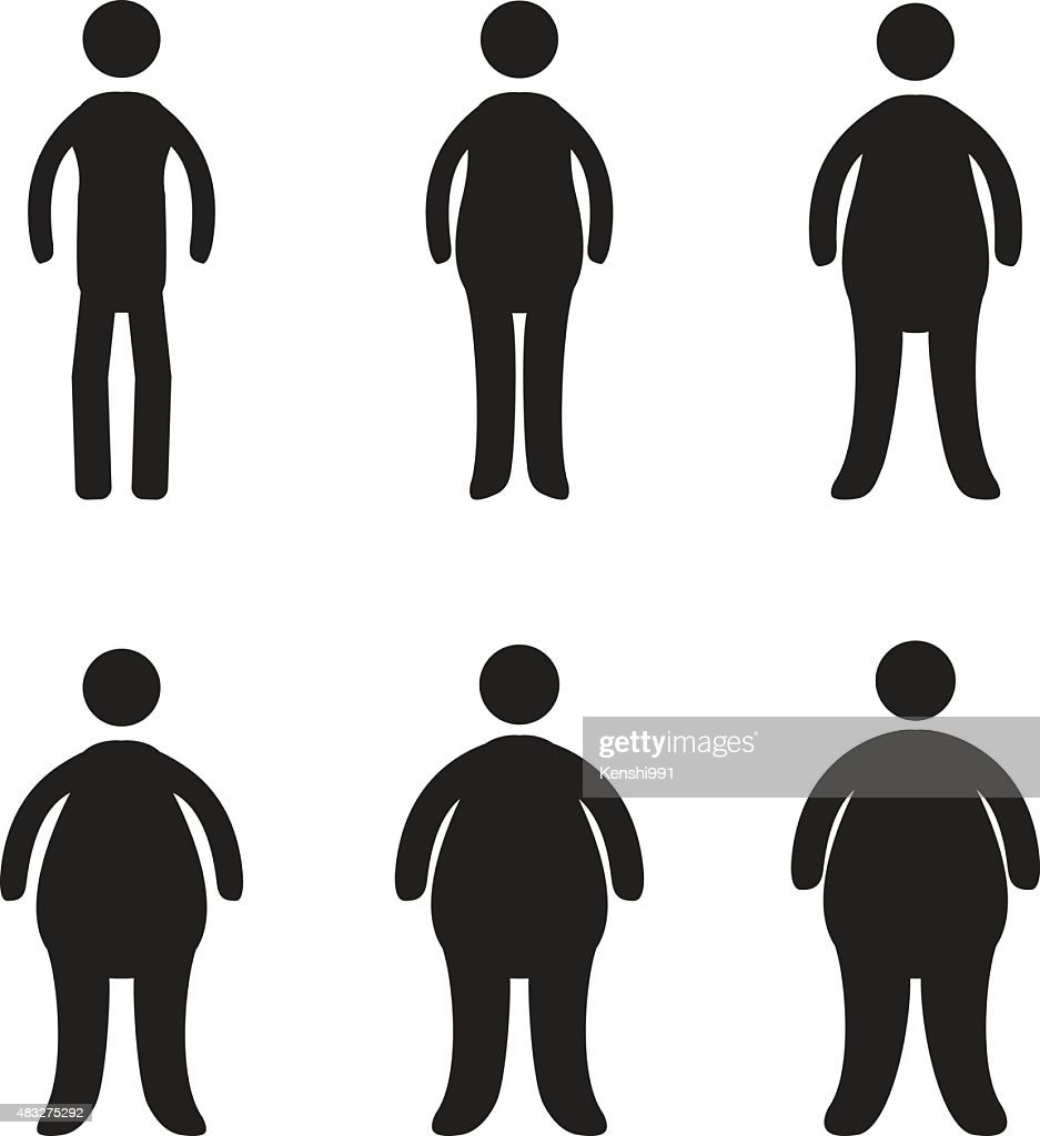 Body types and obesity progression