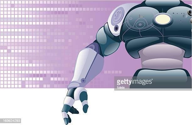 ボディのロボット - 機械アーム点のイラスト素材/クリップアート素材/マンガ素材/アイコン素材