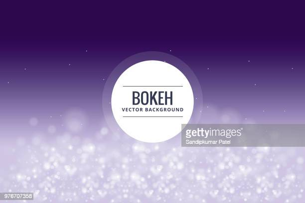 bokeh and blur vector abstract background - blink stock illustrations, clip art, cartoons, & icons