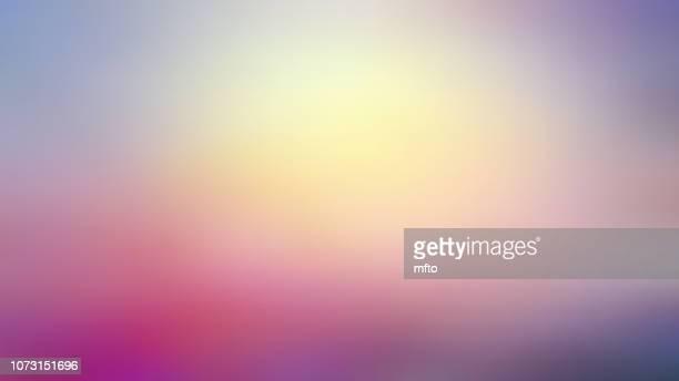 ボケの背景 - パステルカラー点のイラスト素材/クリップアート素材/マンガ素材/アイコン素材