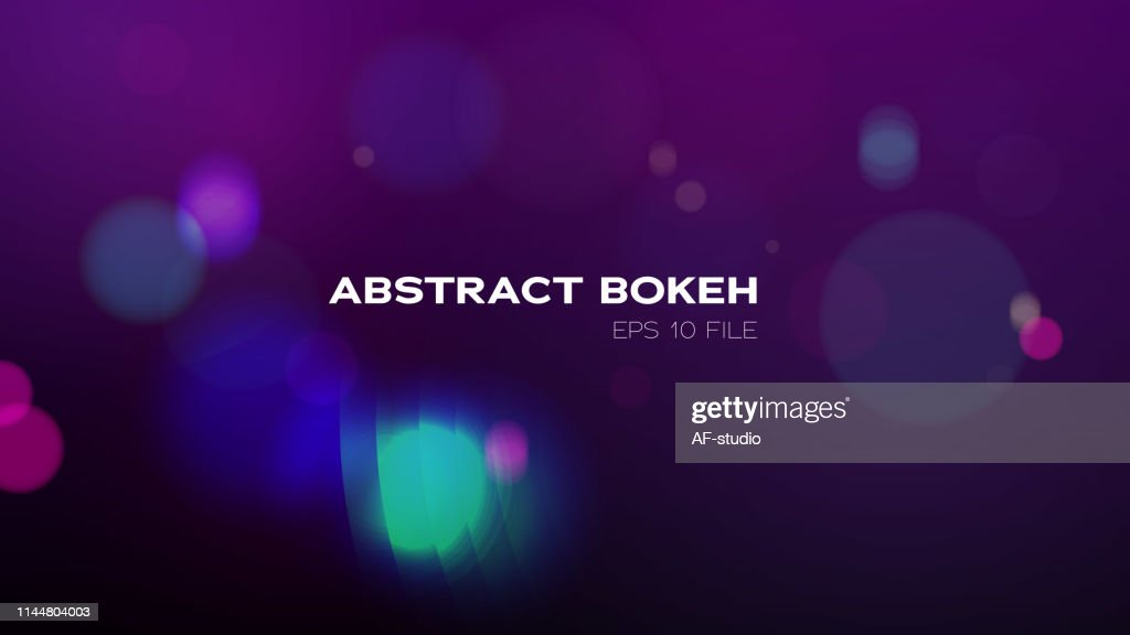 Bokeh Background : stock vector