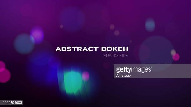 bokeh background - pink and blue background stock illustrations