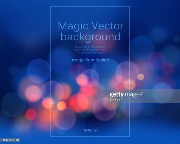 bokeh background - arts culture and entertainment stock illustrations