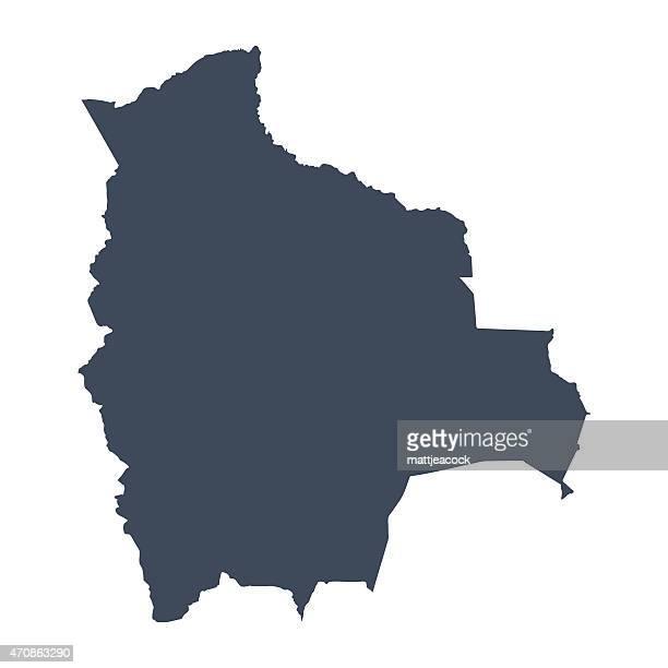 Bolivia country map