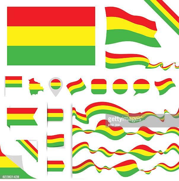 Bolivia Flag Set