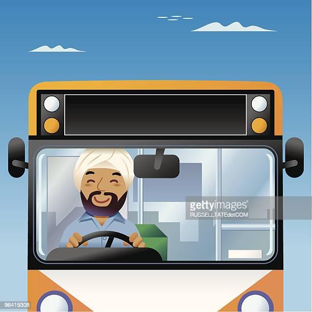 Bollywood Bus driver