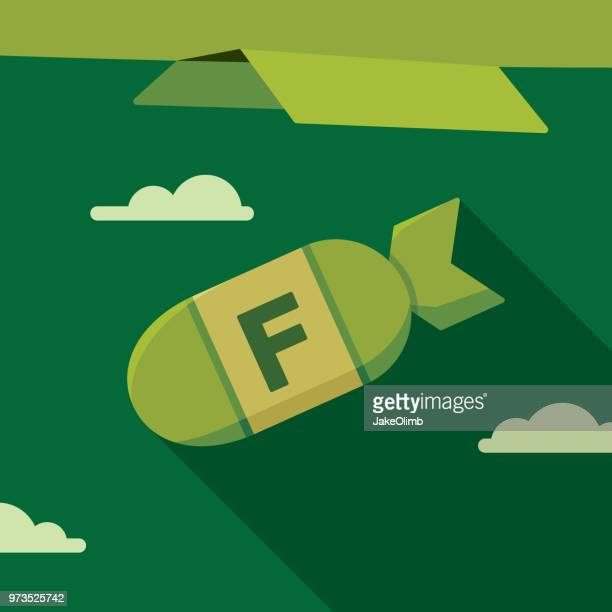 F Bomb Flat Green