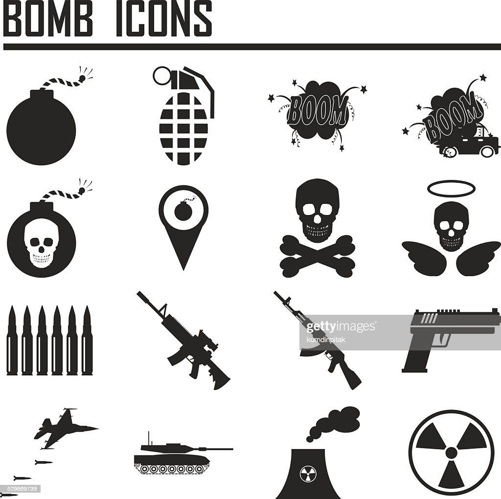 Bomb icon,weapon