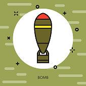 Bomb Military Icon