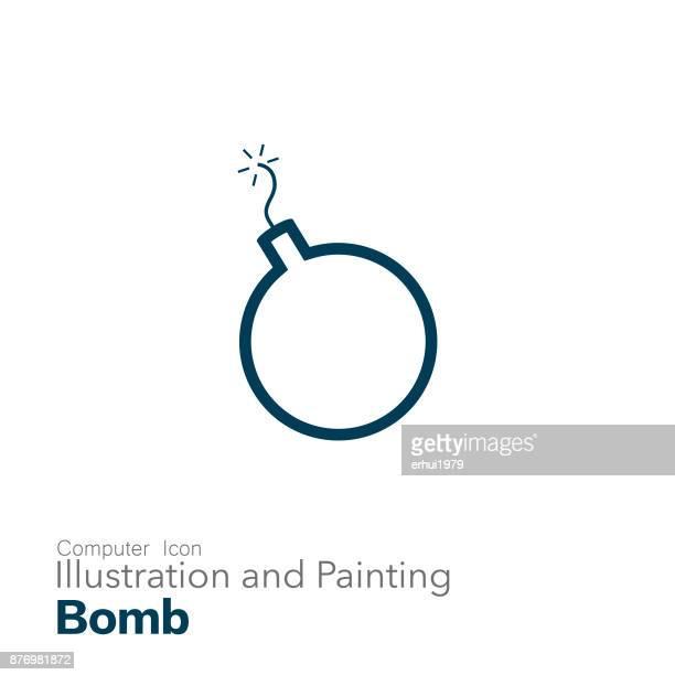 bomb - sparks stock illustrations, clip art, cartoons, & icons