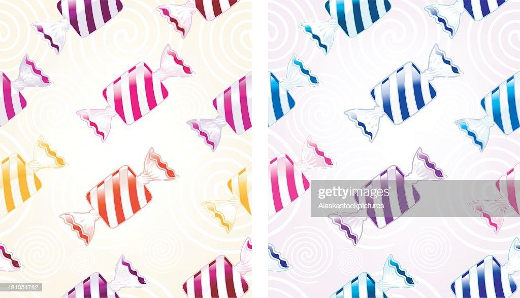 Bonbon pattern (seamless)