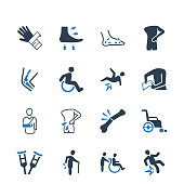 Bone Fracture Icons