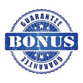 Bonus  Guarantee Stamp.