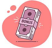 Bonus Money Icon