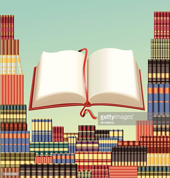 ilustrações, clipart, desenhos animados e ícones de reserve e biblioteca - livraria