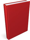 Book Blank Red Cover