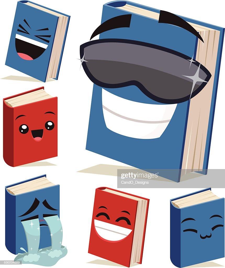 Book Cartoon Set B