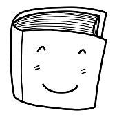 book cartoon