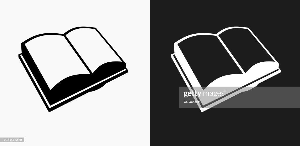 Icone Representant Un Livre Sur Des Arriereplans De Vector