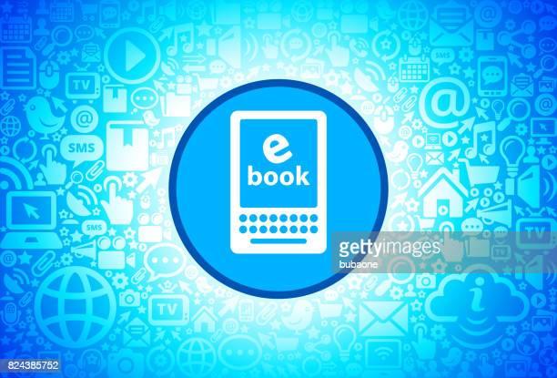 インターネット技術の背景の e 本のアイコン - %e...点のイラスト素材/クリップアート素材/マンガ素材/アイコン素材