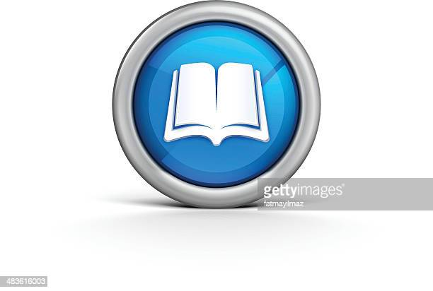 book icon - enciclopedia stock illustrations, clip art, cartoons, & icons