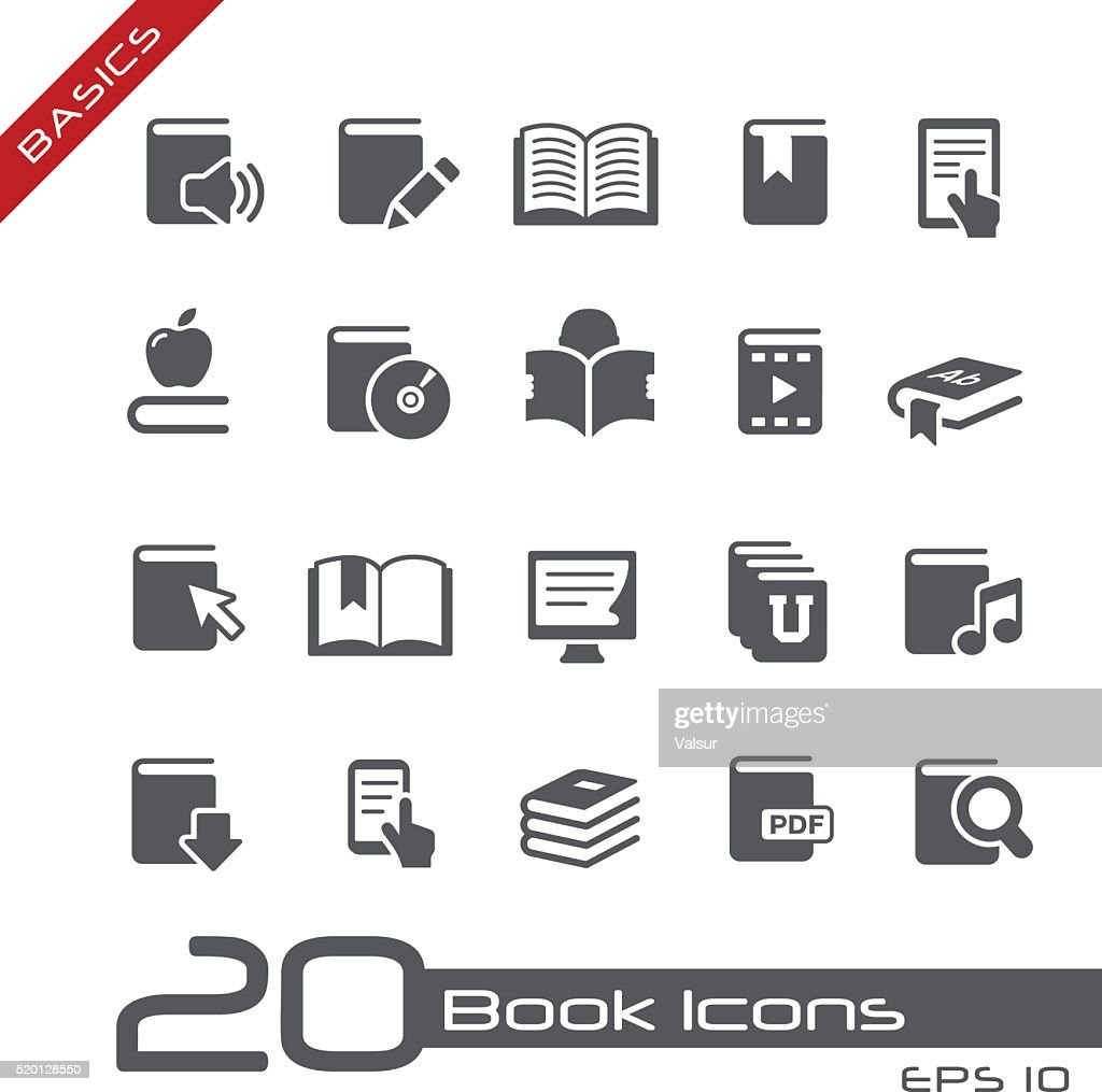 Book Icons - Basics