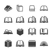 Book Icons Set - Acme Series