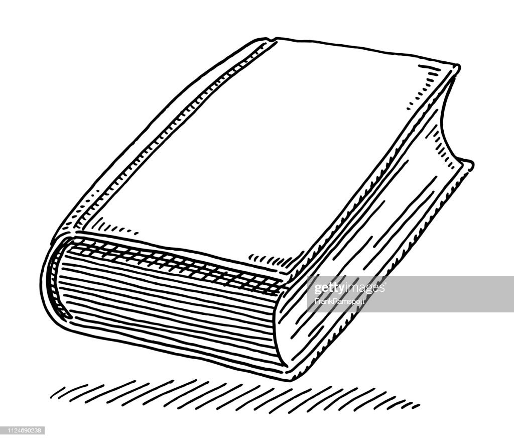 Book Knowledge Symbol Drawing : stock illustration
