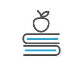 book line icon illustration vector,book icon illustration vector,book line website icon