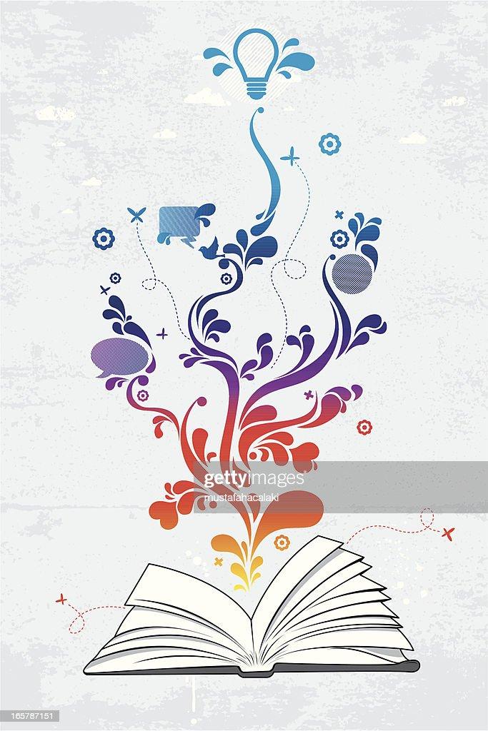 Book of ideas : Vector Art