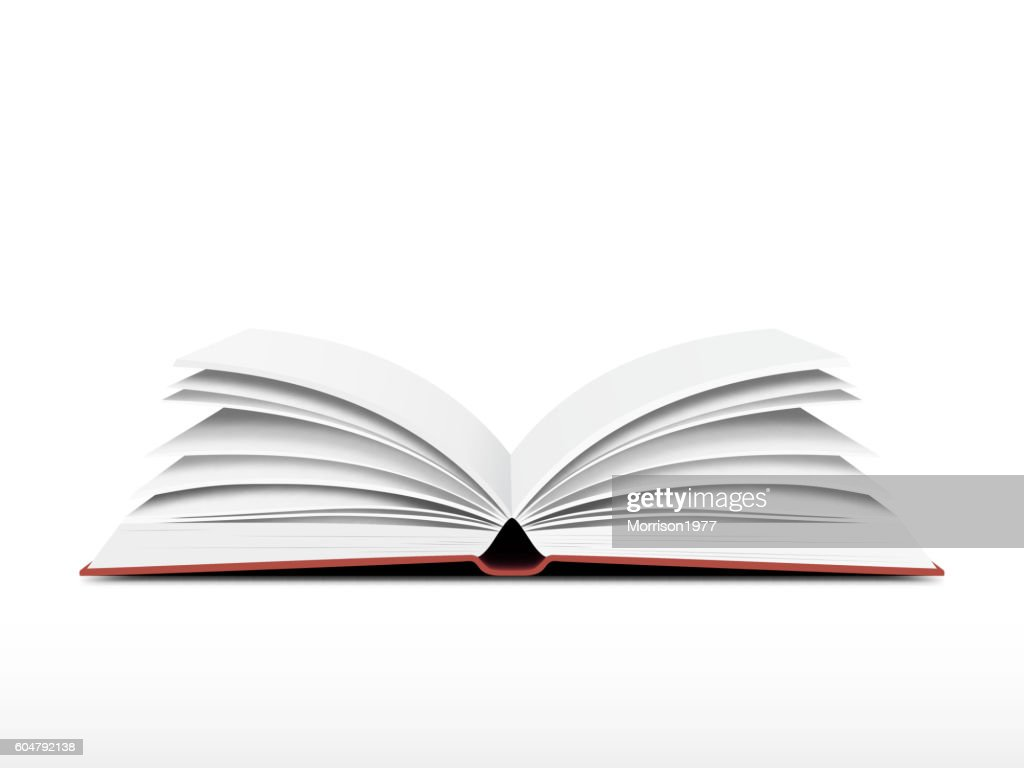 Book open vector
