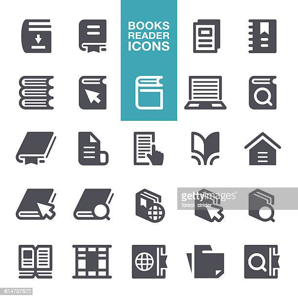 Book Reading Icons