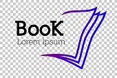 book related corporate, organization, community, club or other, at transparent effect background