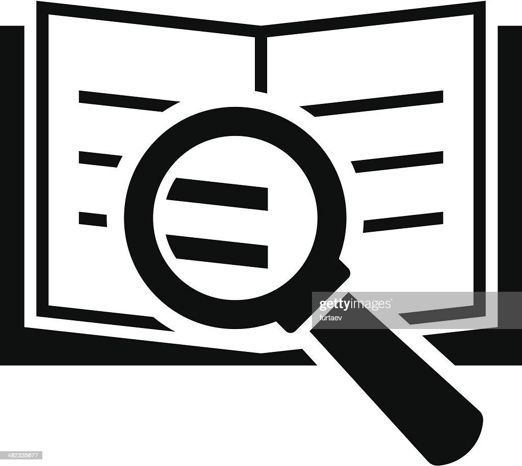 Book search icon